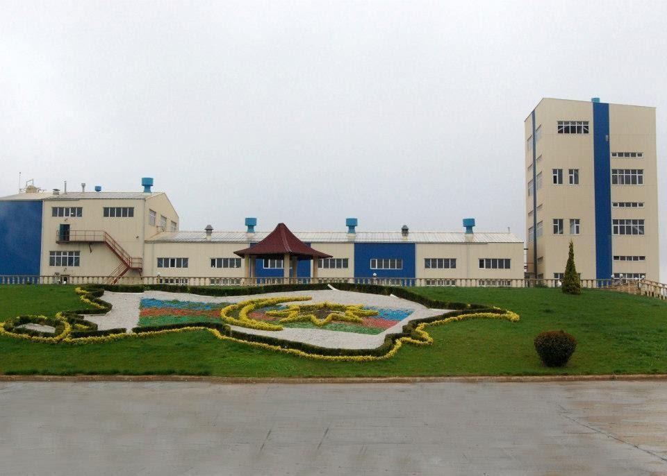 На фото – завод «Гянджа Шараб» в Азербайджане
